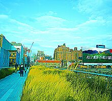 The High Line by iwasoutwalking