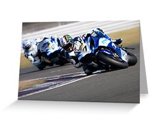 Knee down Greeting Card