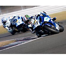 Knee down Photographic Print