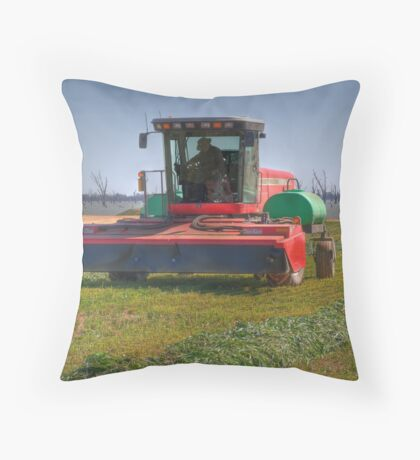 Harvester Down the Street Throw Pillow