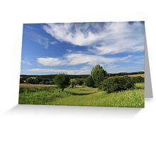 a wonderful Czech Republic landscape Greeting Card