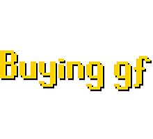 Buying gf, Old RuneScape Font Design Photographic Print