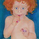 I found Mommy's lipstick by SERENA Boedewig