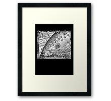 Flammarion Engraving Framed Print