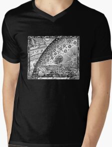 Flammarion Engraving Mens V-Neck T-Shirt