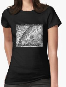 Flammarion Engraving Womens Fitted T-Shirt