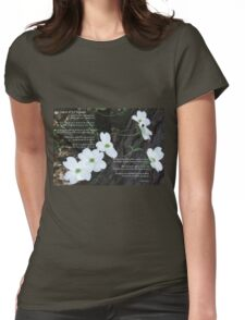 The legend of the dogwood Womens Fitted T-Shirt