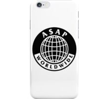 asap world wide iPhone Case/Skin
