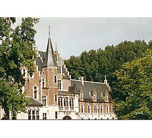 P.P.Rubens' Castle at Elewijt - Belgium Photographic Print