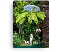 Sporty Fern on a Rainy Day Canvas Print