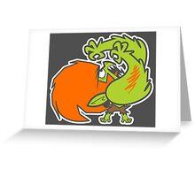 Powerpuff fighter IV Greeting Card