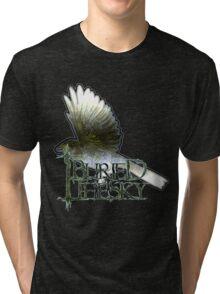 I Buried The Sky - The Bird Tri-blend T-Shirt