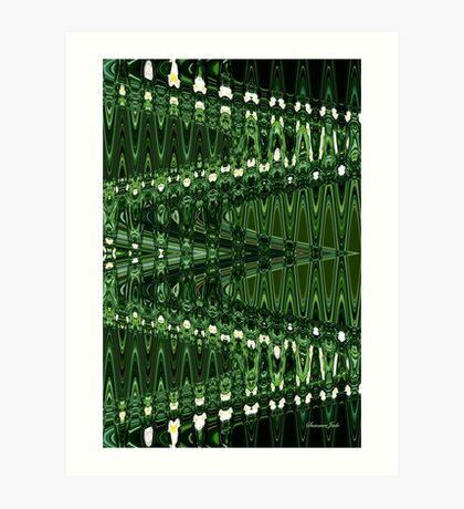 Go Green ~ Good Vibrations Art Print