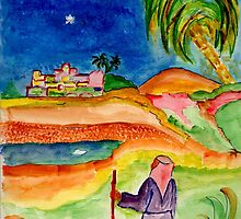 The Star of Bethlehem by Anne Gitto