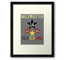 Weltmeister Deutschland Framed Print