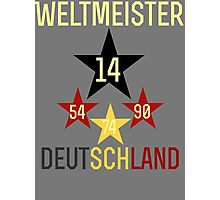 Weltmeister Deutschland Photographic Print