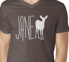 jane doe Mens V-Neck T-Shirt