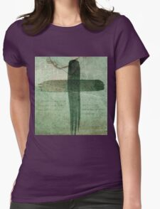 On The Cross - Romans 8 Womens Fitted T-Shirt