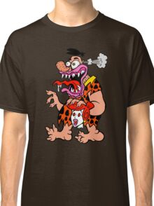 Freaked Out Flintstone Classic T-Shirt