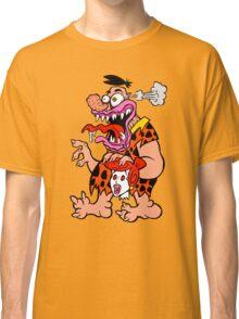 Freaked Out Flintstone Classic T-Shirt