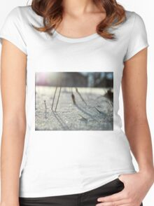 There Is Light Women's Fitted Scoop T-Shirt