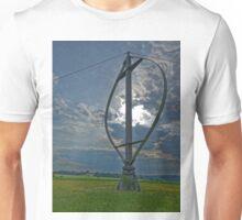 Darrieus wind rotor, Heroldstatt Unisex T-Shirt
