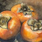 Fuju Persimmons by ddhabicht