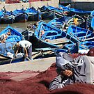 The day's catch (Essaouira, Morocco) by Christine Oakley