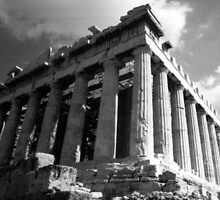 The Parthenon by Susan Chandler