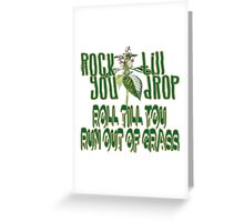 Rock & Roll Riddles Greeting Card
