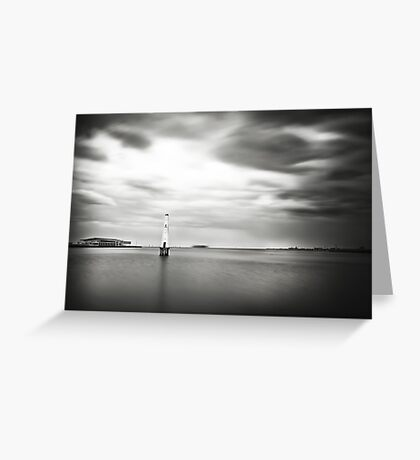 Port Melbourne Lighthouse Greeting Card