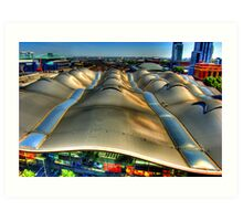 Railway Sails. Art Print