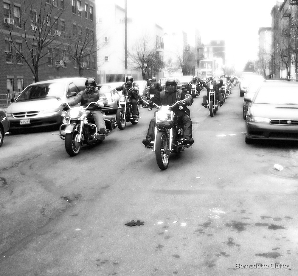 Bike Run by Bernadette Claffey