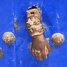 Knock on wood (Essaouira, Morocco) by Christine Oakley