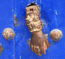 Knock on wood (Essaouira, Morocco) by Christine Oakley