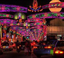 The Festival of Light DOF by Larry Lingard-Davis
