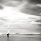Port Melbourne Lighthouse II by Melinda Kerr