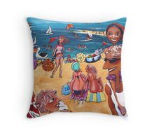 Just a perfect day! Throw Pillow