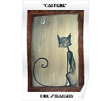 Dirk Strangely's CAT NOIRE Poster