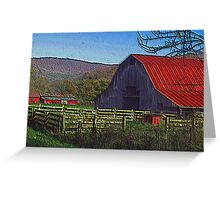 Boxley Valley Farmstead Greeting Card