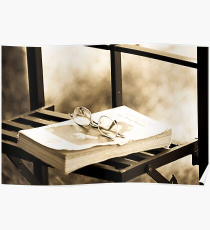Peaceful time to read Poster