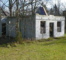 Haven Modern Motel Ruins by wiscbackroadz