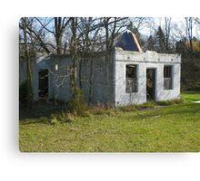 Haven Modern Motel Ruins Canvas Print
