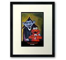 Dirk Strangely's MUPPET'S OF THE DAMNED Framed Print
