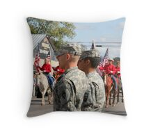 Freedom....Isn't Free! Throw Pillow