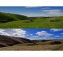 Willunga Hills Photographic Print