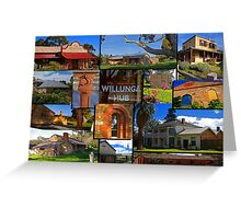 Willunga houses and community Greeting Card