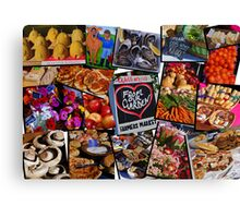 Willunga Farmers Market Canvas Print