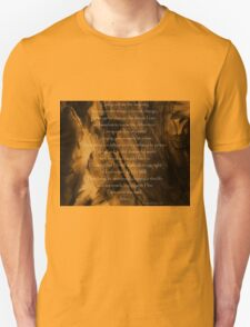 The Serenity Prayer - Abstract painting background T-Shirt