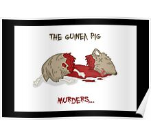 the guinea pig murders... Poster